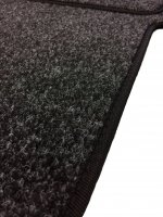Vauxhall Vivaro 2001-2014 Single Passenger Seat Mat - Anthracite Carpet
