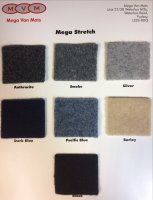 Lining Carpet Sample Card - Mega Stretch