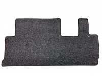 Volkswagen T5 Kombi Rear Mat 2+1 Seat Config. (Twin Slider) - Anthracite Carpet