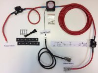 8m MVM Split Charge Relay Kit - Ready Made