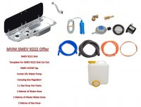SMEV 9222 Sink/Hob with Complete Fitting Kit