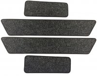 Volkswagen (VW) T5 / T6 Cab Step & Twin Sliding Door Mats
