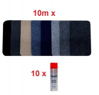 10m Mega Stretch Lining Carpet and 10 x Adhesive Package