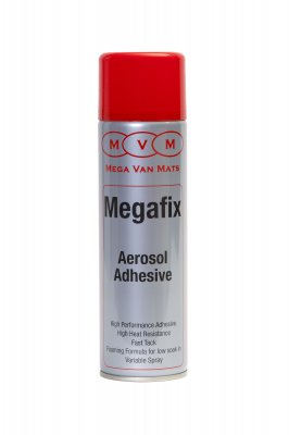 3 x Mega Fix High Temperature Spray Adhesive / Glue