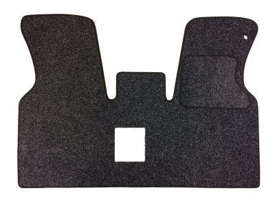 Volkswagen (VW) T4 Double Passenger Seat Mat - Anthracite Carpet