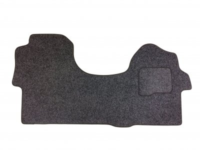 Volkswagen (VW) Crafter 2006 - 2016 Double Passenger Seat Mat -Anthracite Carpet